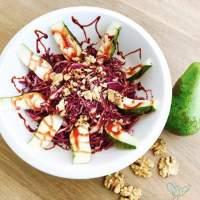 Rodekool Peer Salade