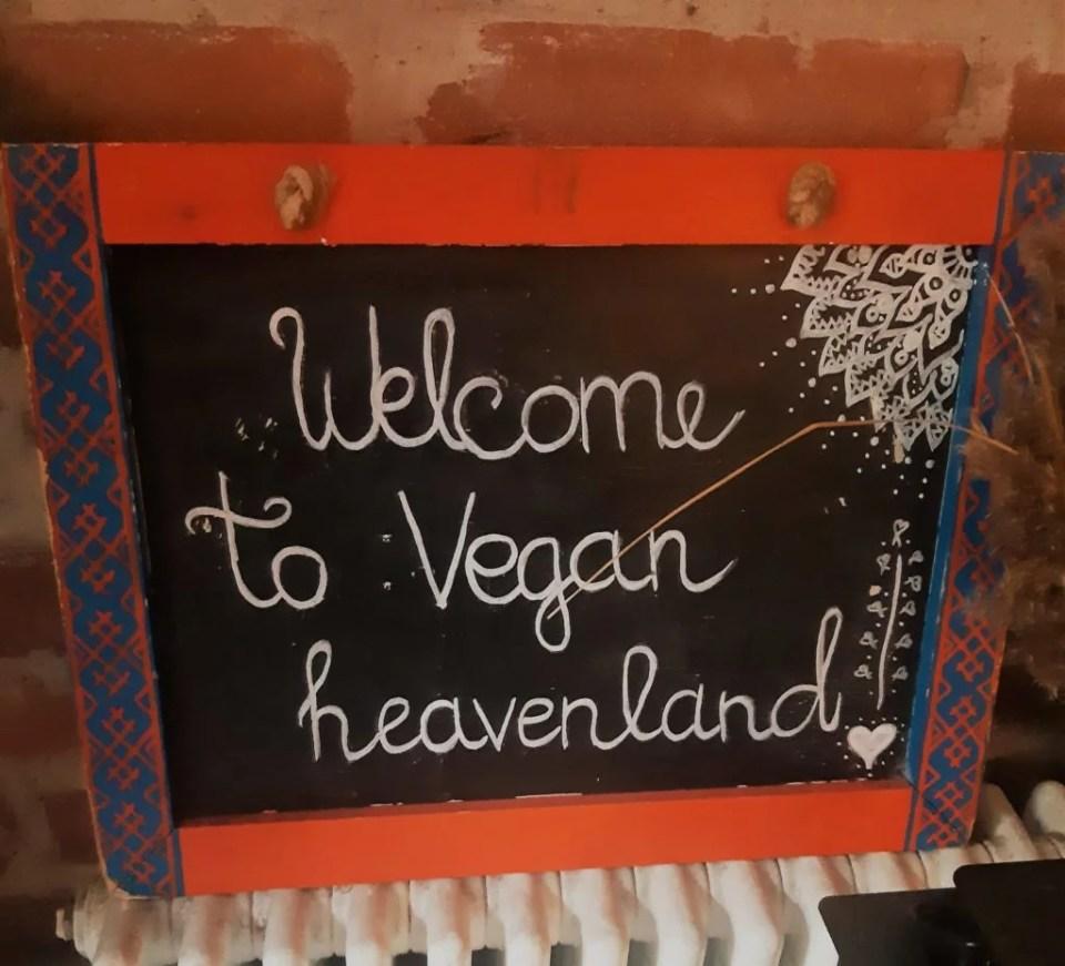 vegan Tallinn old town