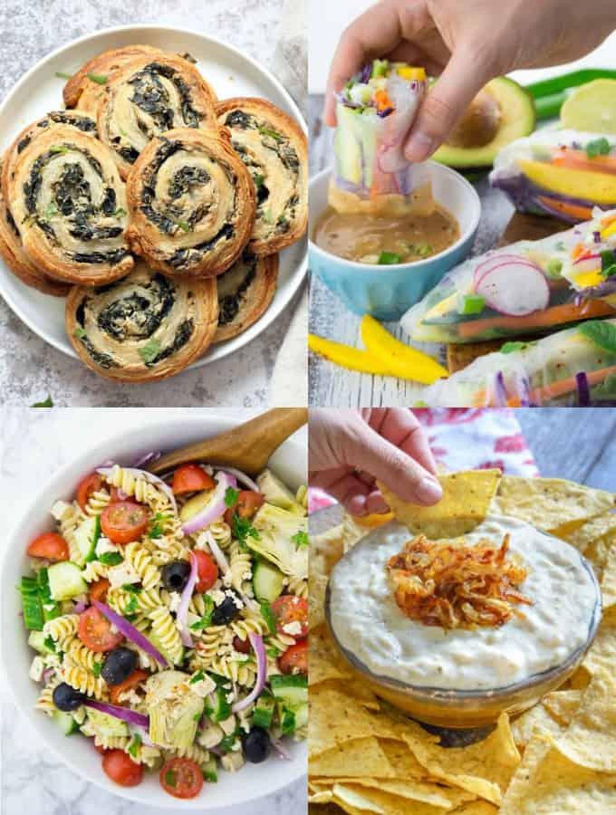 5+ Vegan Appetizers for Potluck