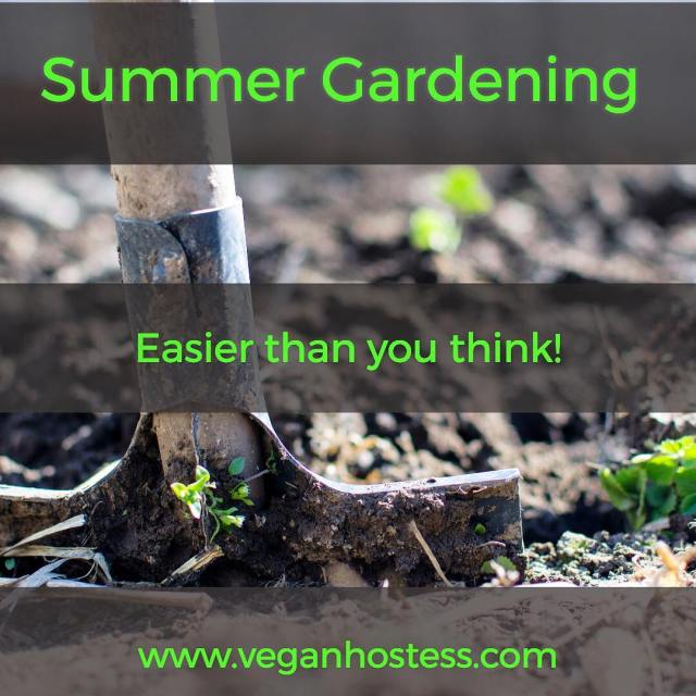 Summer Gardening Tips veganhostess Link in bio   hellip