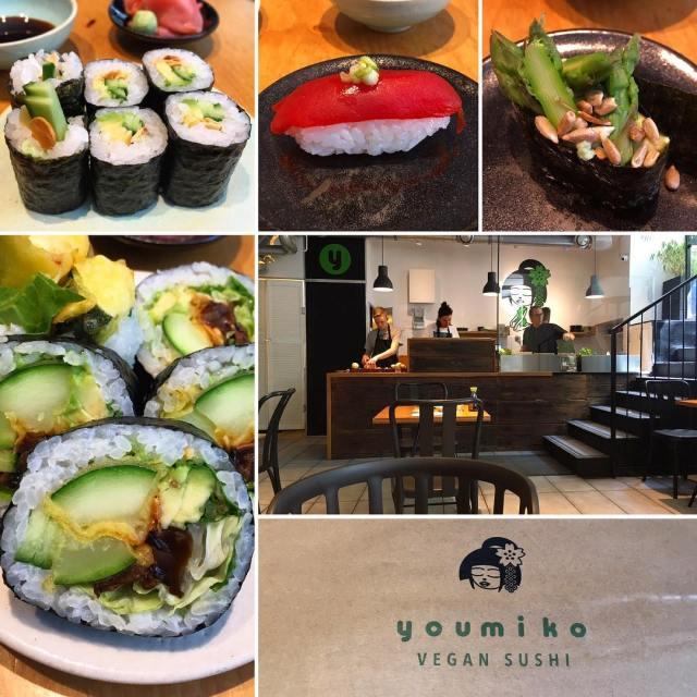 Eating vegan in warsaw youmikovegansushi     polandhellip