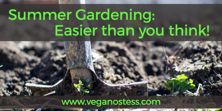 Summer Gardening: Easier than you think!