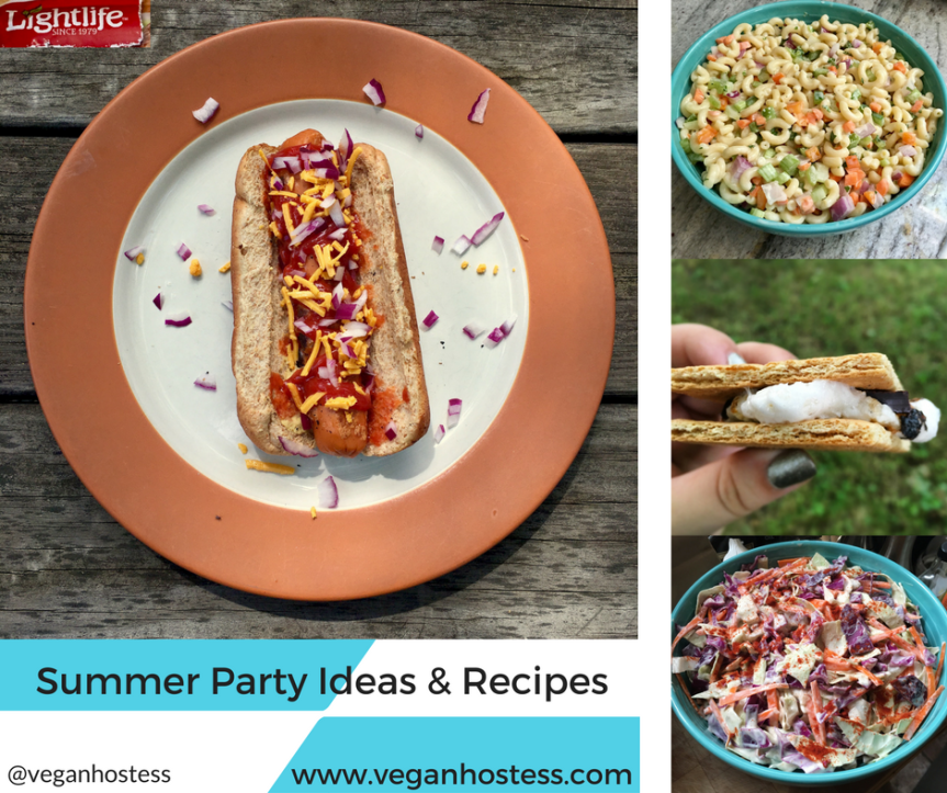 Summer Party Ideas and Recipes