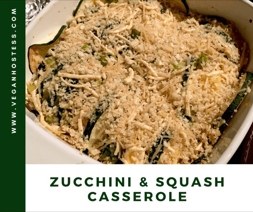 Recipe: Zucchini & Squash Casserole