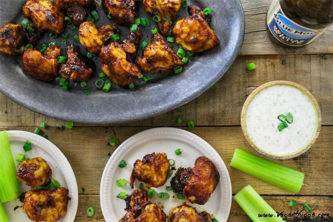 These BBQ Cauliflower Wings are a healthier alternative to traditional wings. They are baked with very simple ingredients and they are oil & gluten-free. Serve 'em up as an appetizer, snack or tasty side dish.