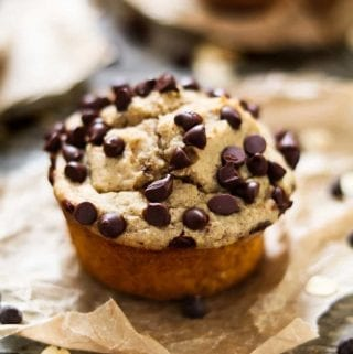 These Vegan Protein muffins are quick, easy, healthy, and delicious! All you'll need is some common ingredients, a blender, muffin tin and your oven. (gluten-free & oil-free)