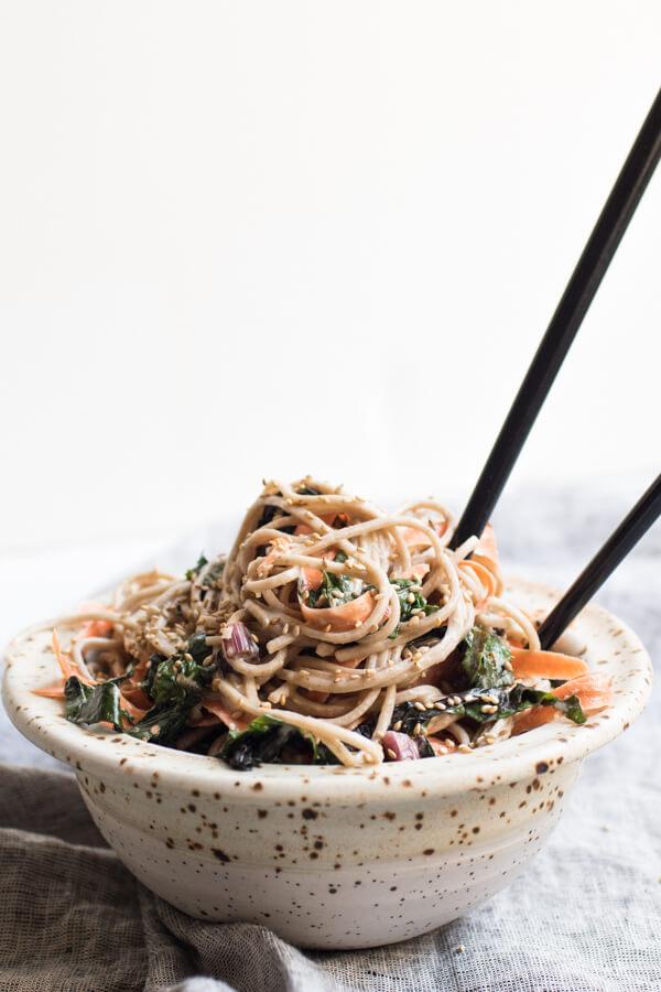 Soba Noodles - Easy Vegan Dinner Recipes