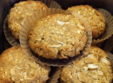 Main Street Vegan - Chocolate-Dipped Coconut Cookies