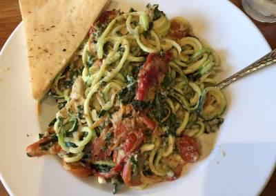 Zucchini Primavera - Dinner and a Movie