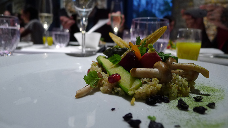 vegán fine dining