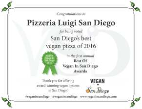 Best Pizza 2016 Luigi