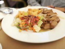 comida vegana Seitan a la pimienta