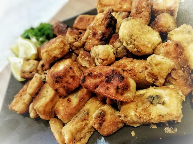 Tofu marinado en adobo - ¡Una receta de tofish deliciosa!