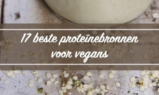 17 beste plantaardige eiwitten voor vegans