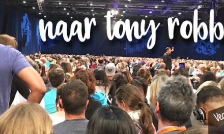 """Als veganist naar Tony Robbins """"Unleash the Power Within"""""""