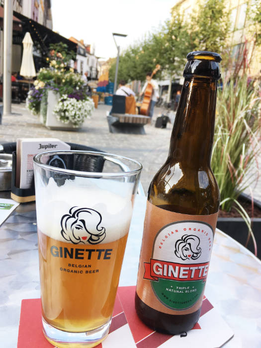 Biologisch bier Ginette in Hasselt