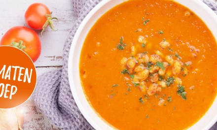 Tomatensoep maken – met gekruide witte bonen