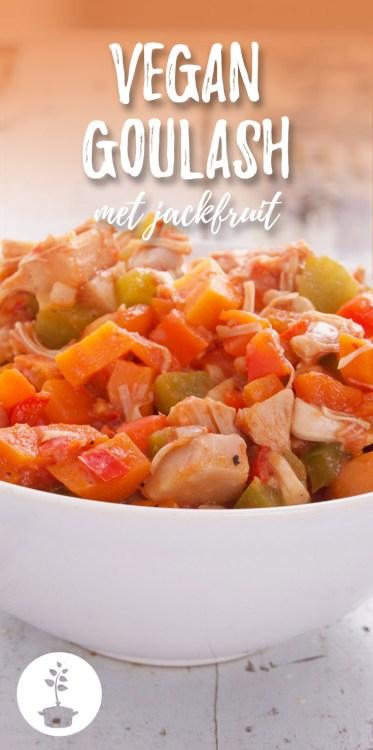 Vegan goulash met jackfruit recept