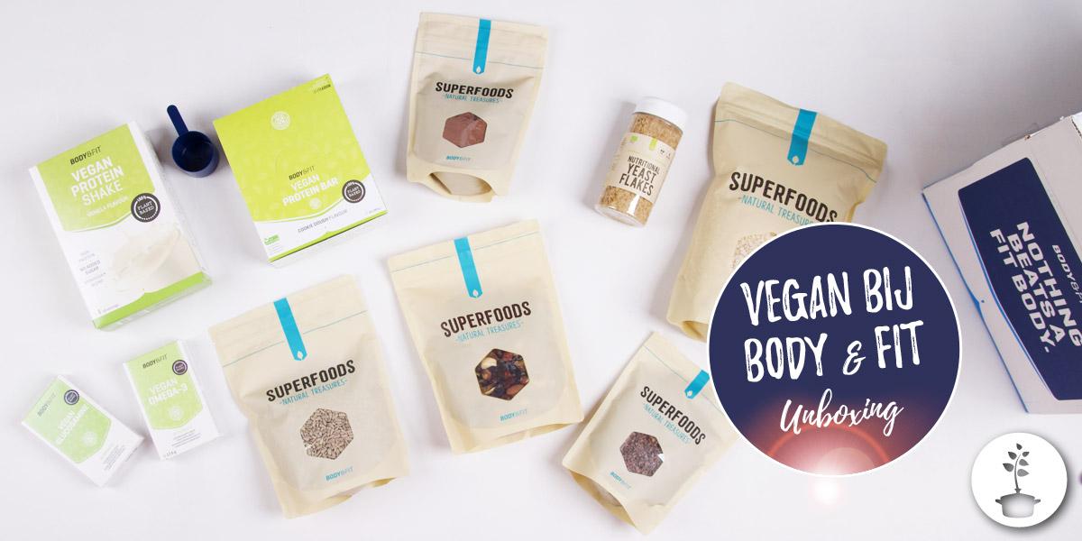 Vegan bij Body & Fit