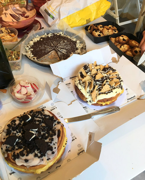 Desserts voor de potluck