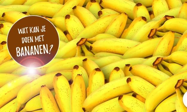 Wat kan je met bananen doen? 15 ideetjes