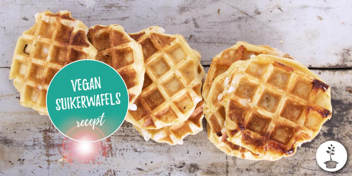 Belgische suikerwafels maken – vegan recept