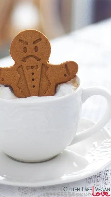 Vegan Christmas Cookies-Gluten-Free-Gingerbread-Men-1