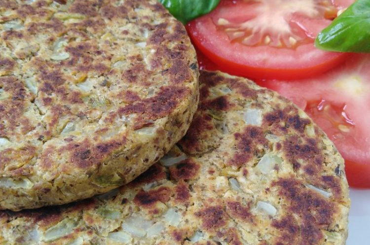 Chickpea Burger - Vegan and Easy - Great Texture