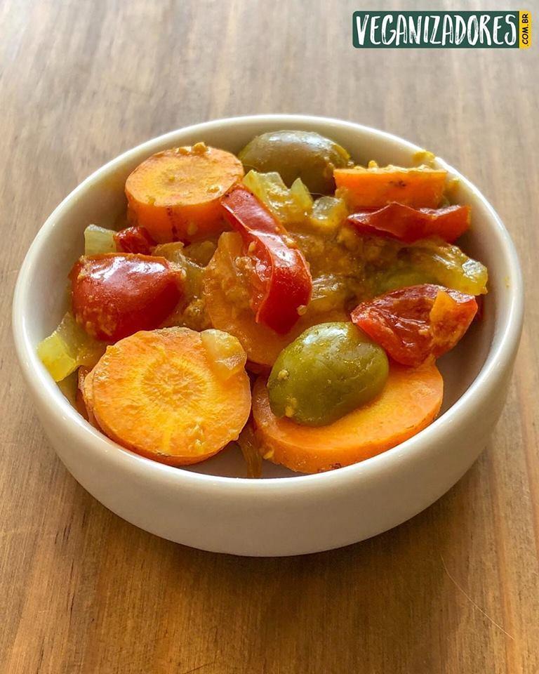 Cenoura na Mostarda - Receita Vegana