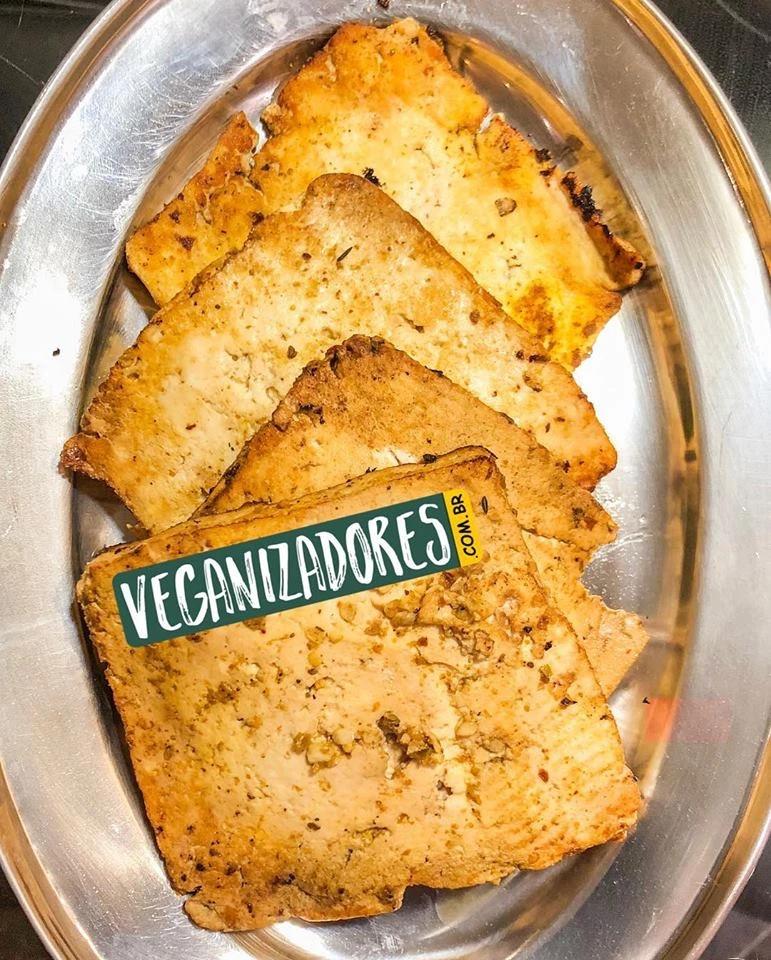 Tofu Marinado Grelhado Vegano - Receita Veganizadores