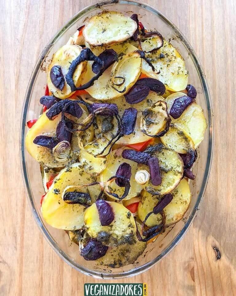 Tofulhoada Vegana - Receita Bacalhau Vegano