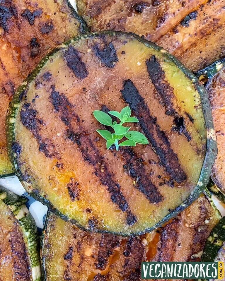 Abóbora Grelhada à la Veganizadores - Receita Vegana