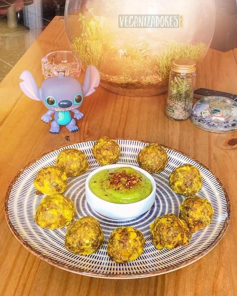 Bolinhos de Cogumelos Veganos - Receita Veganizadores