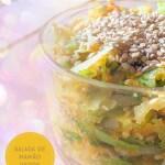 Salada de Mamão Verde - Receita Vegana