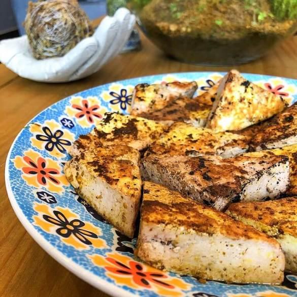 Tofu Grelhado - Receita Vegana