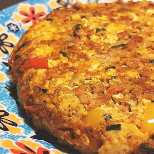Tofumelete (Omelete Vegano) - Receita Veganizadores