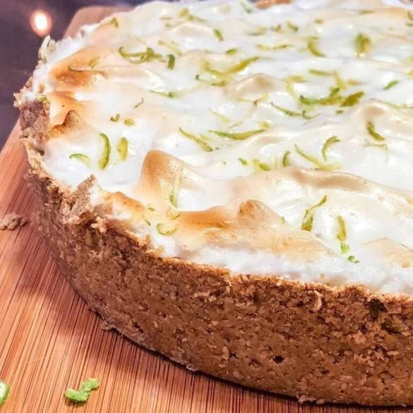 Torta de Limão Vegana - Receita Veganizadores
