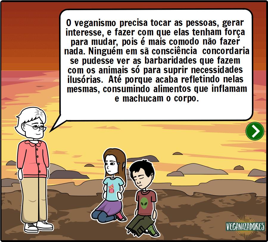 Esperança - Quadrinhos Veganos - Veganizadores