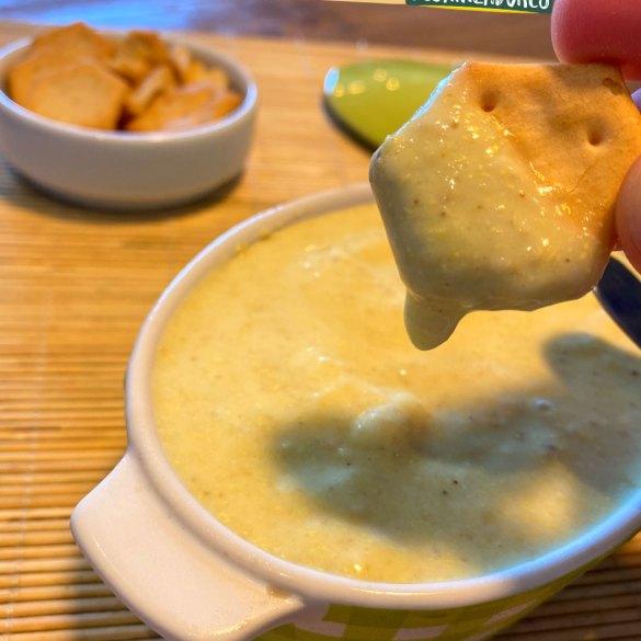 Queijo Vegano Cremoso de Quinoa e Gergelim - Receita Vegana