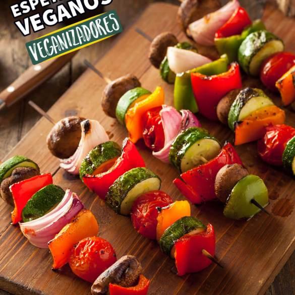 Espetinhos Veganos Marinada Churrasco Vegano Receita Vegana
