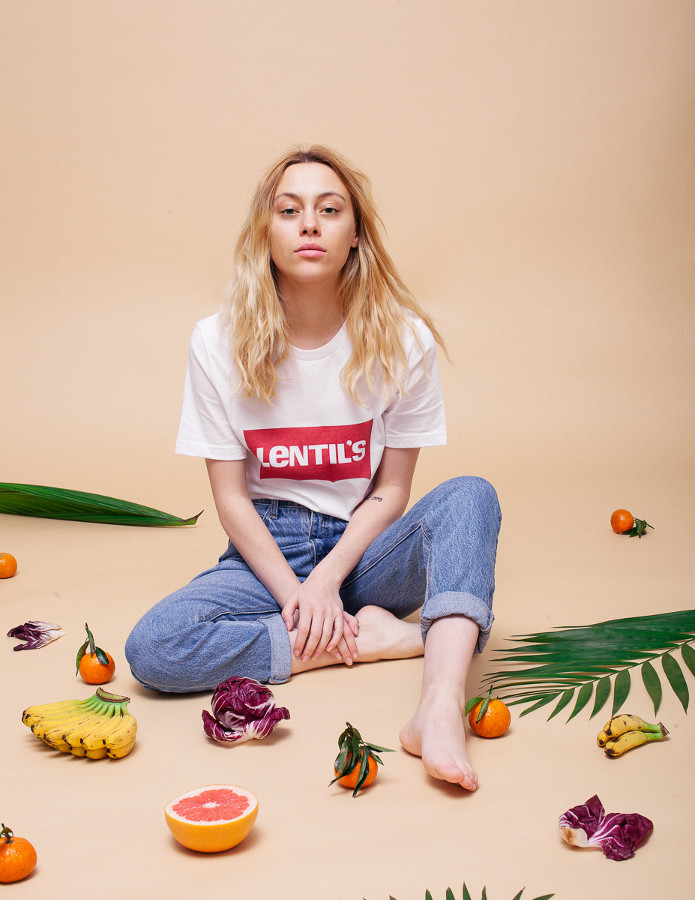 The Lentil's Shirt - Veganized World Apparel