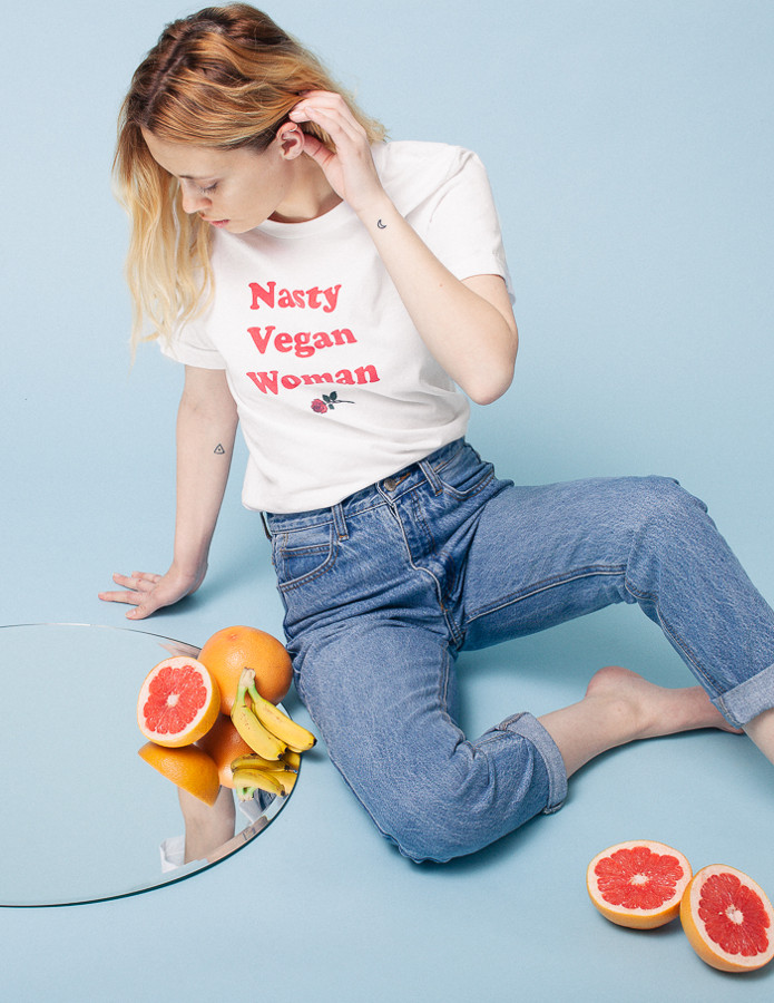The Nasty Vegan Woman Shirt - Veganized World Apparel
