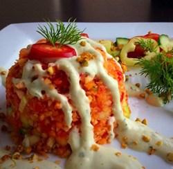 zöldség gombóc natúr ételbár