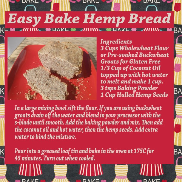 hemp bread