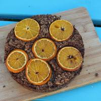 Chocolate Orange Baked Oatmeal