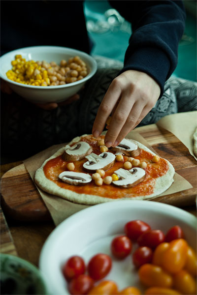 pizzabringdienst vegan