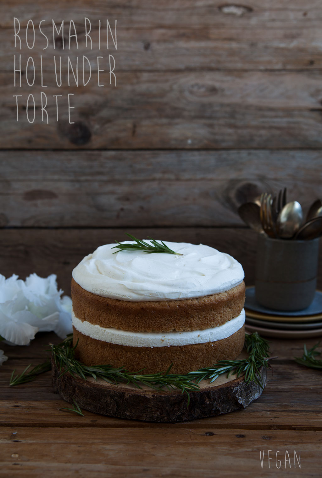 Rosmarin Torte vegan mom