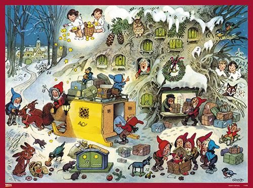 Bilderkalender Baumgarten Wichtel