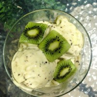 Kiwi Banana Ice-cream!