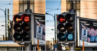 "Belgium Now Has ""Go Vegan"" Traffic Lights"